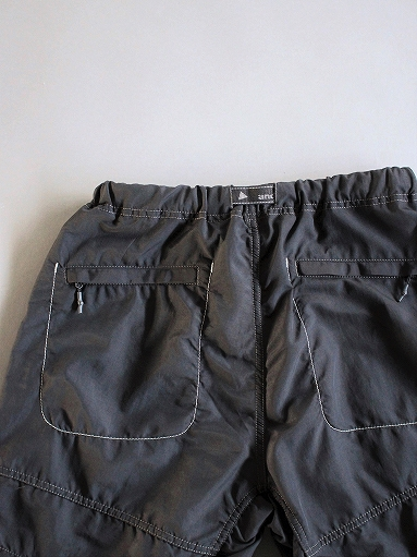 and wander Nylon Climbing Short Pants / Black_b0139281_13511423.jpg