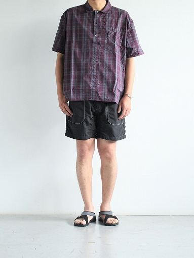 and wander Nylon Climbing Short Pants / Black_b0139281_13524879.jpg