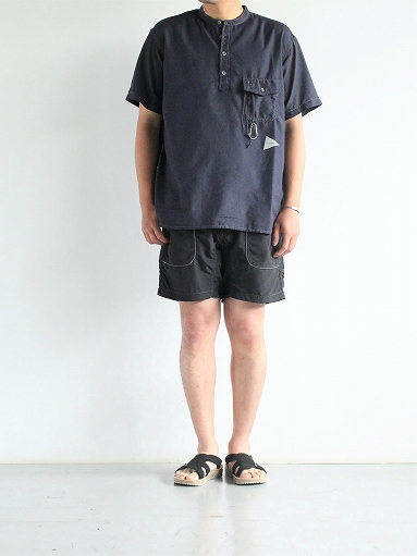 and wander Nylon Climbing Short Pants / Black_b0139281_13525952.jpg