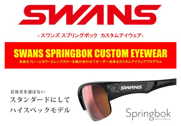 自由な組み合わせでオーダー出来るSWANS(スワンズ)純日本製スポーツサングラスSPRINGBOK(スプリングボック)カスタムアイウェア新色追加!_c0003493_09434896.jpg
