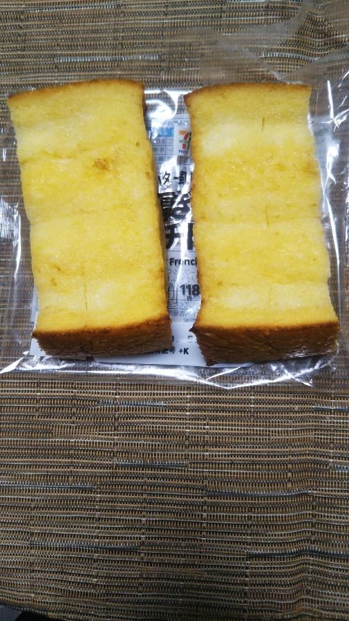 セブンプレミアム バター風味の厚ぎりフレンチトースト_f0076001_21463956.jpg