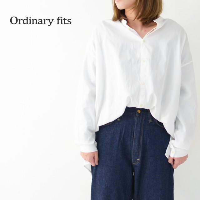 ordinary fits [オーディナリーフィッツ] GARDENER CARDIGAN [OF-S029] ガーデナーカーディガン・コットン・スタンドカラー・LADY\'S _f0051306_12023595.jpg