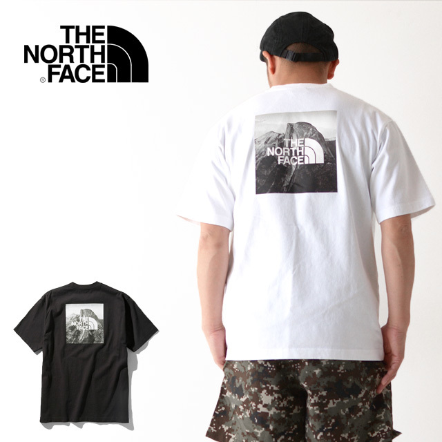 THE NORTH FACE [ザ ノースフェイス正規代理店] M S/S Pictured Square Logo Tee [NT32036] Tシャツ・MEN\'S _f0051306_14542504.jpg