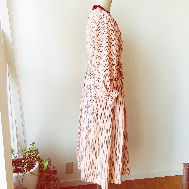 着物着物リメイク/小紋のお着物からレディードレス_d0127925_23335261.jpg