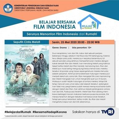 インドネシアの映画:Seputih Cinta Melati その2@TVRI 5/25  20:00 - 22:00 WIB_a0054926_17191743.jpg