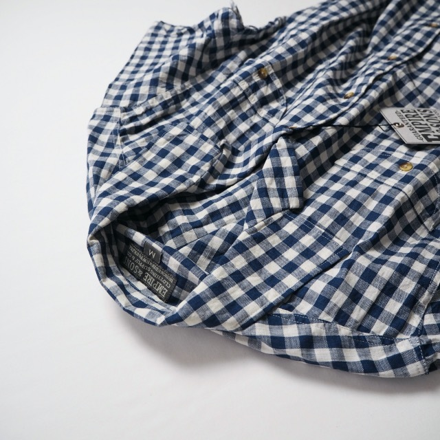 """EMPIRE&SONS \""""S/S CAMP SHIRT SELVAGE CHECK\""""_a0122933_18173800.jpg"""