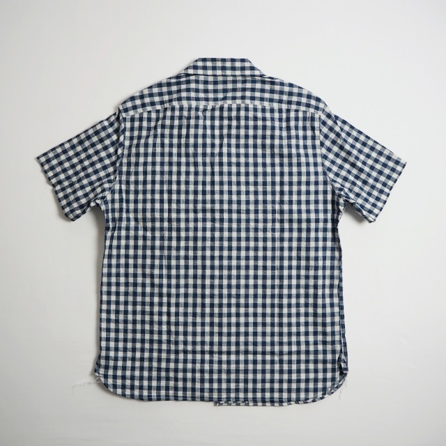 """EMPIRE&SONS \""""S/S CAMP SHIRT SELVAGE CHECK\""""_a0122933_18174353.jpg"""