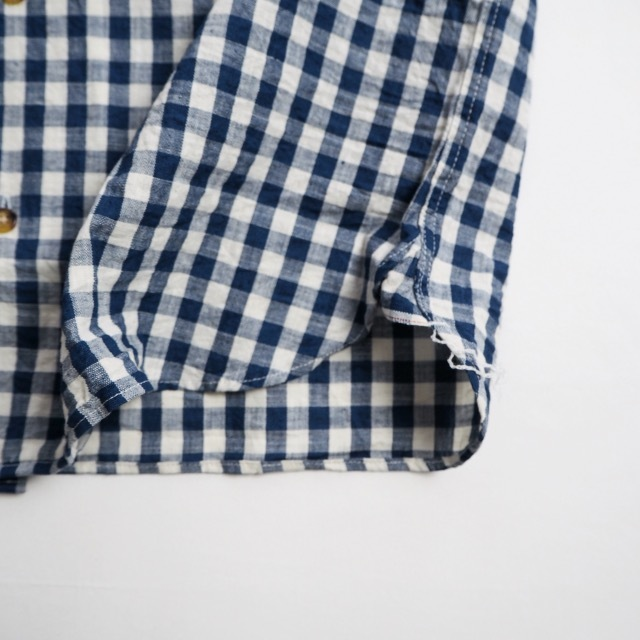 """EMPIRE&SONS \""""S/S CAMP SHIRT SELVAGE CHECK\""""_a0122933_18174980.jpg"""