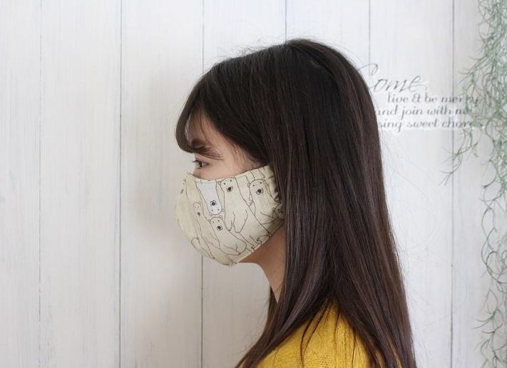 『手作りマスクQ&A』素材の選び方・立体マスクの型紙の使い分けなどにお役立てください(2020保存版)_f0023333_22290482.jpg