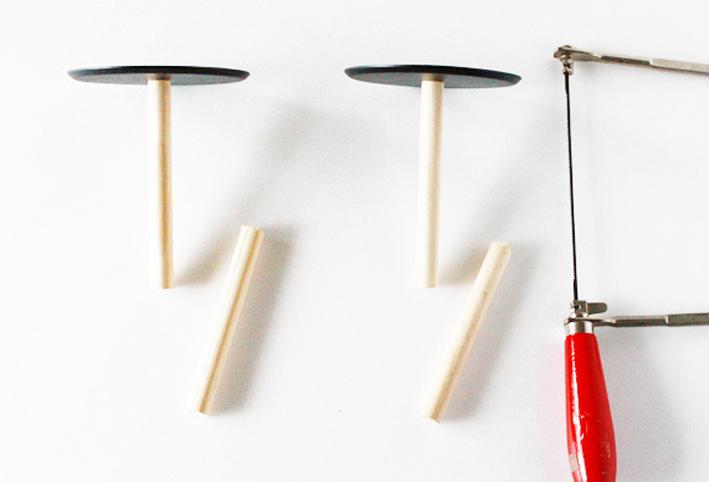 セリアのキッチングッズで簡単DIY☆ジュエリー収納「2段トレイ」_d0351435_07521140.jpg