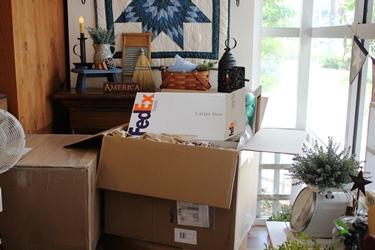 アメリカの荷物、予定より早く届きました!_f0161543_15104977.jpg