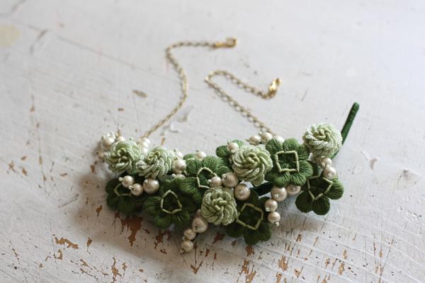 銘仙の着物とバラの帯とシロツメクサの帯留め_e0333647_15420946.jpg