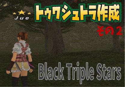 トゥワシュトラ作成 その2 Black Triple Stars_e0401547_17575224.jpg
