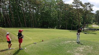 第37回 梶岡建設ジュニアゴルフ月例競技会_f0151251_10461010.jpg