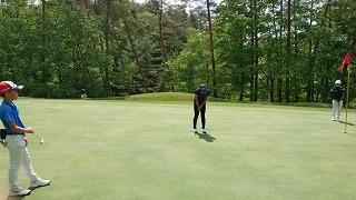 第37回 梶岡建設ジュニアゴルフ月例競技会_f0151251_10461503.jpg
