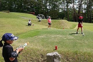 第37回 梶岡建設ジュニアゴルフ月例競技会_f0151251_10461868.jpg
