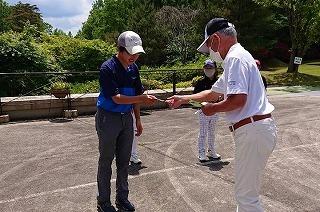 第37回 梶岡建設ジュニアゴルフ月例競技会_f0151251_10462401.jpg
