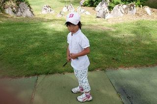 第37回 梶岡建設ジュニアゴルフ月例競技会_f0151251_10462643.jpg
