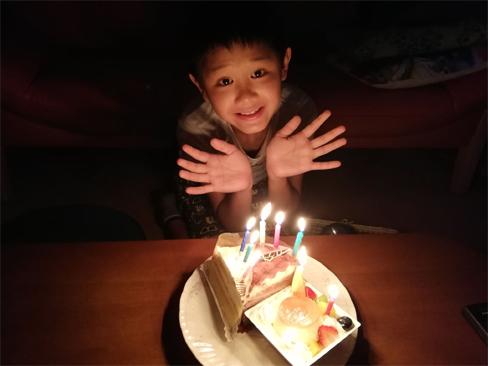 ついに9歳に!「つ」がつく年齢の最後の年。いよいよ大人への階段上るのね~_d0169072_21112926.jpg
