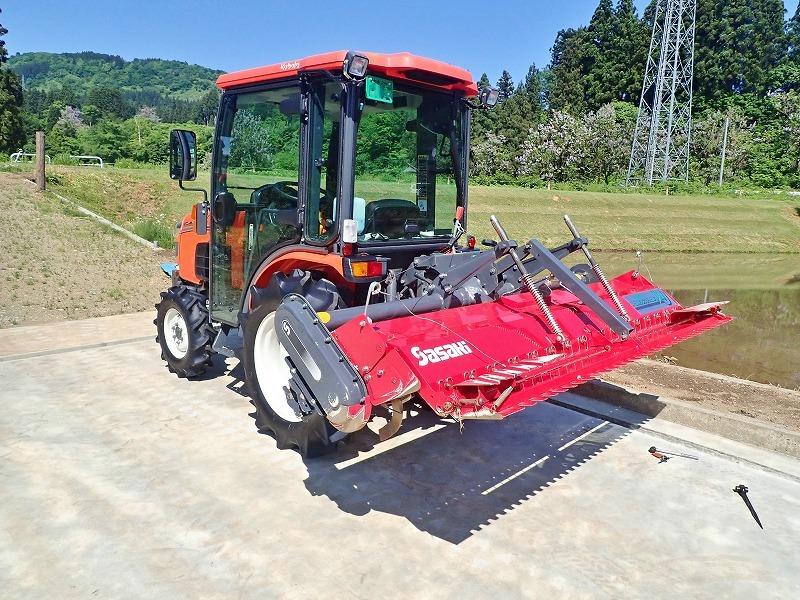 週末の兼業農家は作業機械の格納をしました_c0336902_19464235.jpg