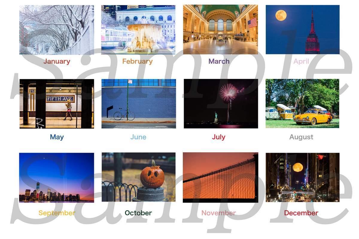 Triangle NY 2021年 カレンダーのお知らせ_a0274805_08152562.jpg