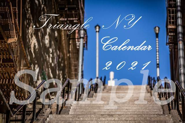 Triangle NY 2021年 カレンダーのお知らせ_a0274805_08175015.jpg