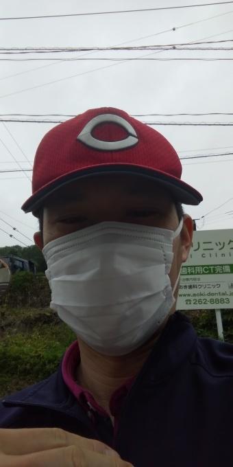 おはようございます!今日はアベノマスクよりコンビニのマスクで介護現場に出勤_e0094315_08131196.jpg