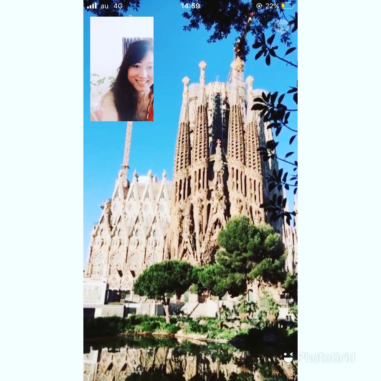 スペインの今の様子とサグラダファミリアと友人と_f0149716_20113363.jpeg