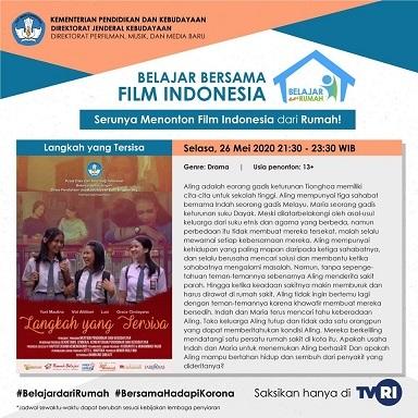 インドネシアの映画:Langkah yang Tersisa@TVRI 5/26 21:30 - 23:30_a0054926_16364821.jpg