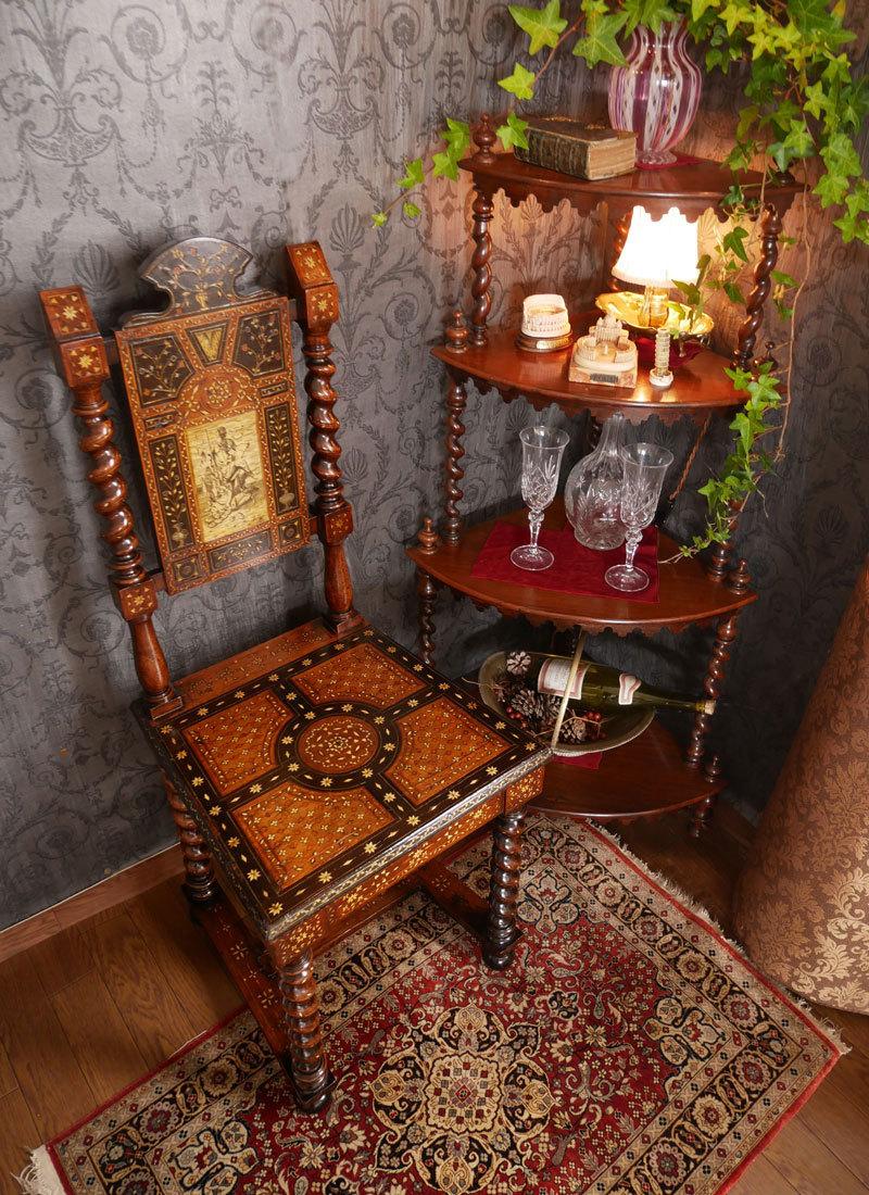 Vol.50  イタリアの女神の椅子に願いをこめて_d0166936_18284728.jpg