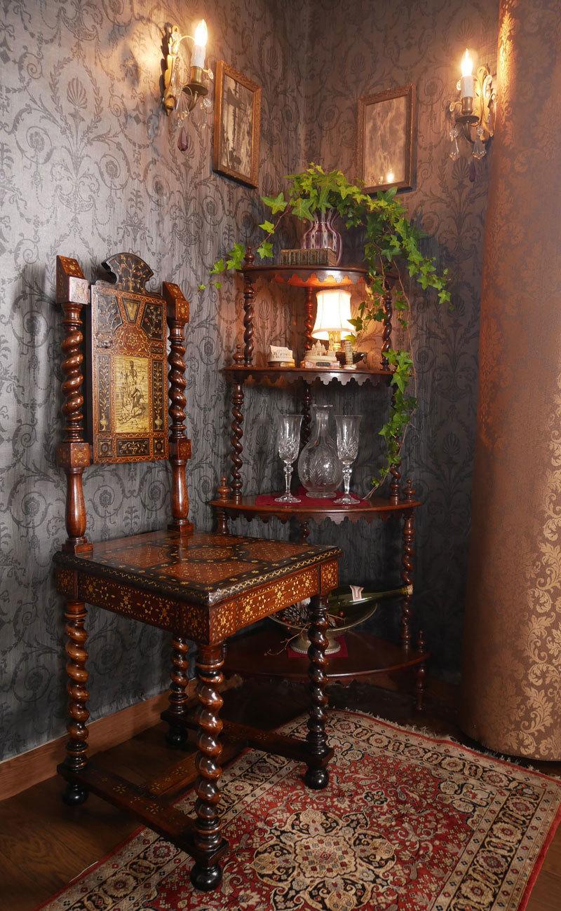 Vol.50  イタリアの女神の椅子に願いをこめて_d0166936_18284780.jpg