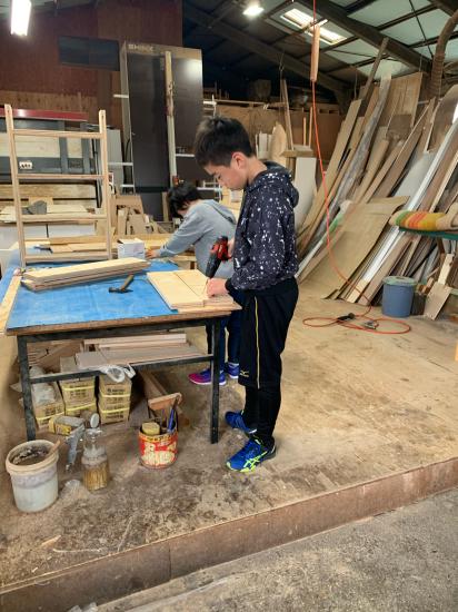 急遽木工教室 本棚作り_f0053665_00122261.jpg