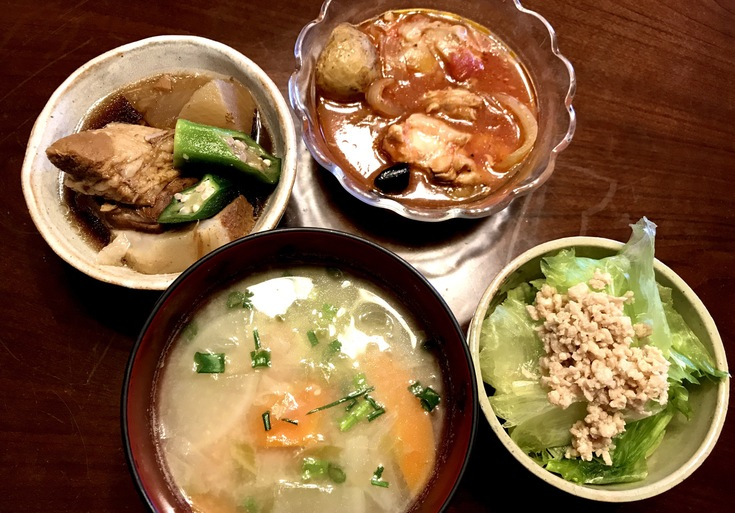 5/27水☆wappoiで買ったお惣菜と鶏そぼろ_c0212604_12293245.jpg