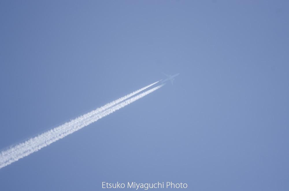 初夏のヒコーキ雲_f0152939_03584009.jpg