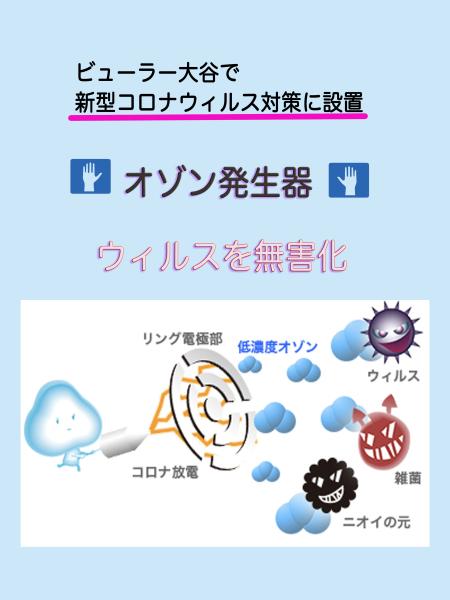 ウィルス退治にオゾン発生器を置いています!_f0135940_23232153.jpg