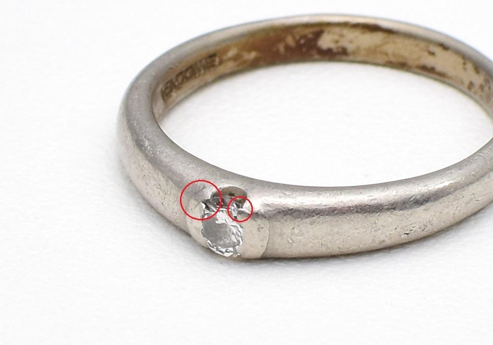 指輪の新品仕上げ_c0346851_16085698.jpg