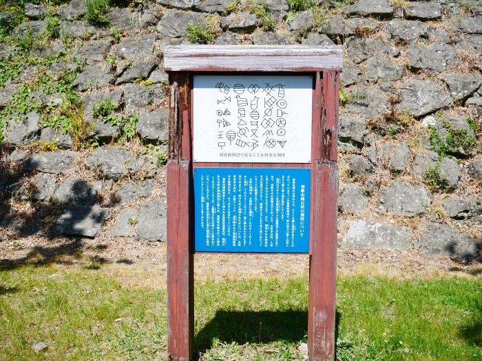 和歌山城石垣の刻印  2020-05-30 00:00     _b0093754_22564253.jpg