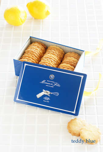Maman et Fille Citron biscuit  マモンエフィーユ シトロンビスキュイ_e0253364_13582401.jpg