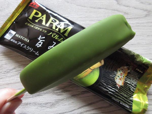 PARM(パルム)とろけあう濃厚なコク 旨み抹茶@森永乳業_c0152767_19003302.jpg