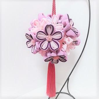 にぎりさんの「桜のボールブーケ」_c0122475_11585568.jpg