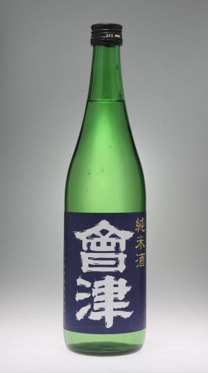 會津 純米酒[会津酒造]_f0138598_17414408.jpg