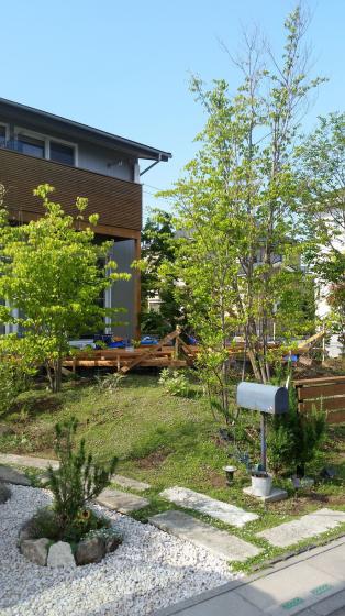 ウッドデッキと庭。_d0080906_20584192.jpg