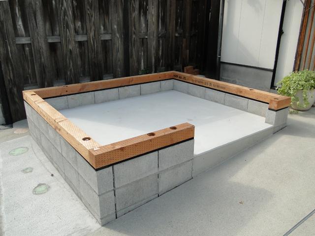 カマ小屋DIY02/気温30度_b0200721_17151146.jpg