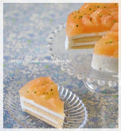 6月のお菓子・グレープフルーツとヨーグルト_a0392423_00031593.jpg