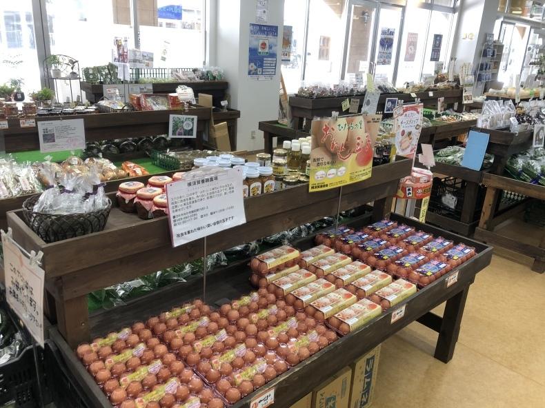 大洗まいわい市場 絶品横須賀養鶏場のオレンジ卵_a0283448_15011079.jpeg