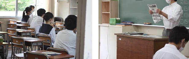 5月28日(木)、29日(金)準備登校 今日は2年生が久しぶりに登校しました。_e0313769_10393154.jpg