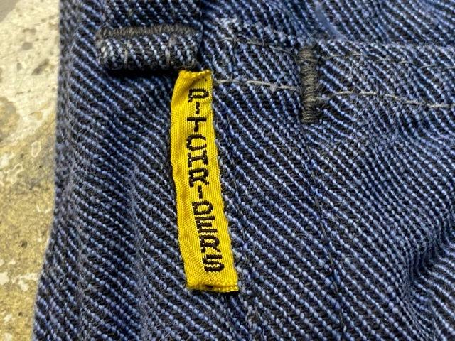 5月30日(土)大阪店オンラインストアVintageボトムス入荷日!!#3 60\'s COWDEN 7-11ブラックコットンツイル,濃い濃いRANCHCRAFT&Lee191Z!!_c0078587_13034712.jpg