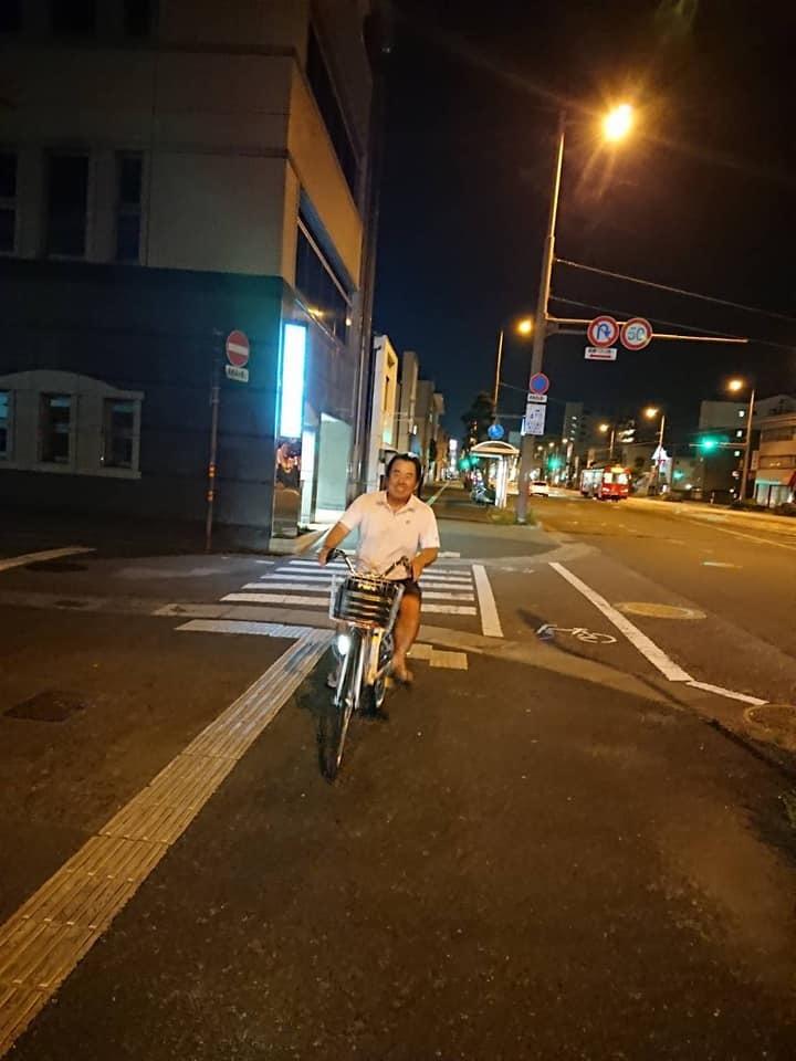 最近は、健康のために買った自転車(新極真号)が重宝しています。_c0186691_09534067.jpg
