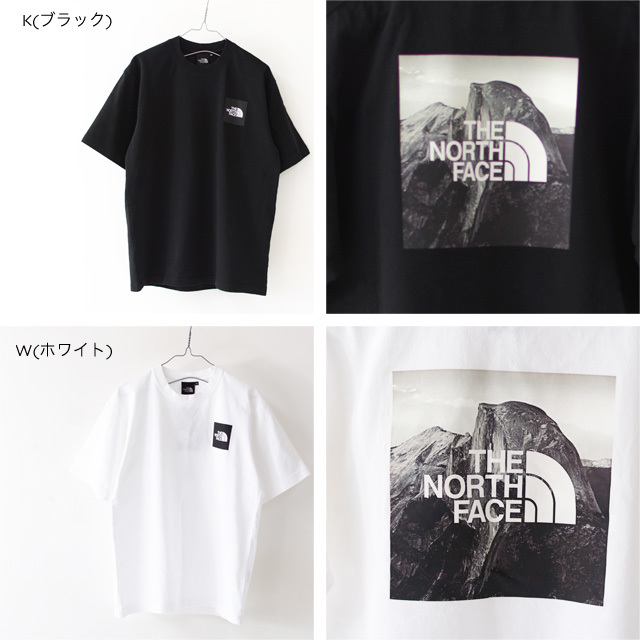 THE NORTH FACE [ザ ノースフェイス正規代理店] M S/S Pictured Square Logo Tee [NT32036] Tシャツ・MEN\'S _f0051306_17353225.jpg