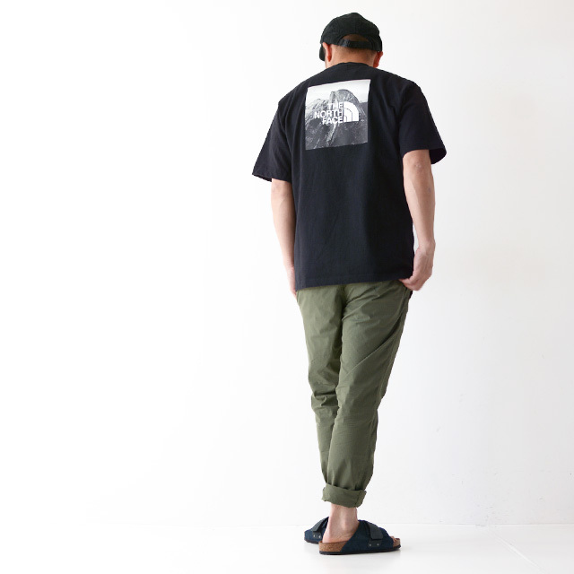 THE NORTH FACE [ザ ノースフェイス正規代理店] M S/S Pictured Square Logo Tee [NT32036] Tシャツ・MEN\'S _f0051306_17353259.jpg